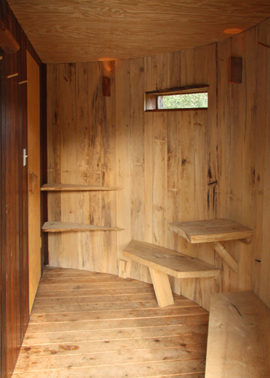 Blue Way Moon Sauna